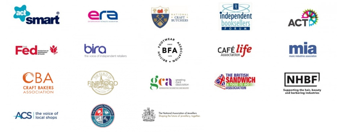 Member Logos of the IRC (Independent Retail Confederation)